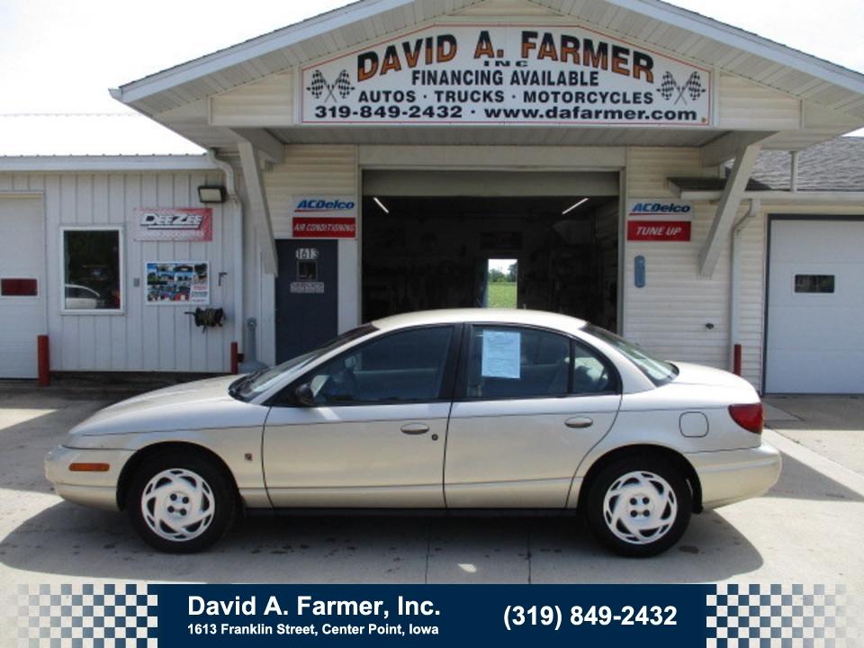 2000 Saturn SL SL2 4 Door**Low Miles**  - 4618-1  - David A. Farmer, Inc.