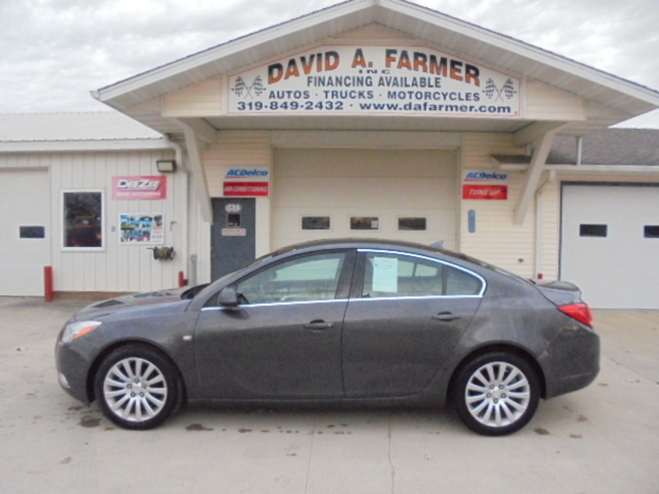 2011 Buick Regal CXL**Low Miles/Leather/Sunroof**  - 4584  - David A. Farmer, Inc.
