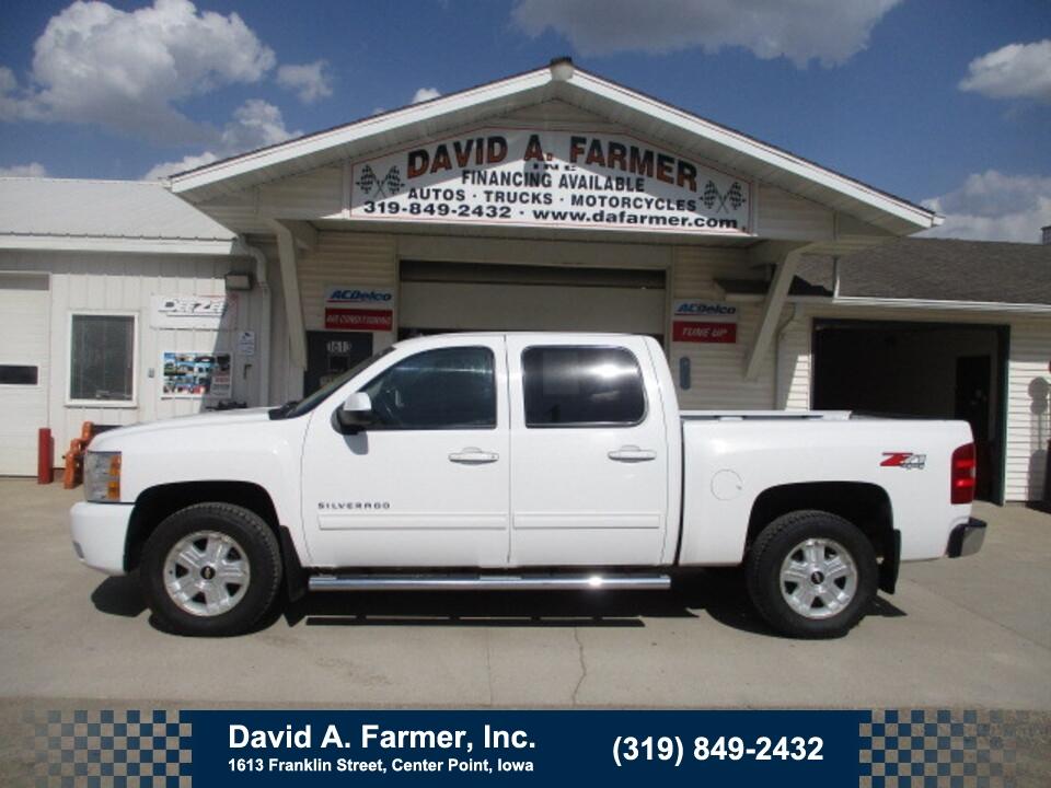 2011 Chevrolet Silverado 1500 LTZ Crew Cab 4X4 Z71**1 Owner**  - 4922  - David A. Farmer, Inc.