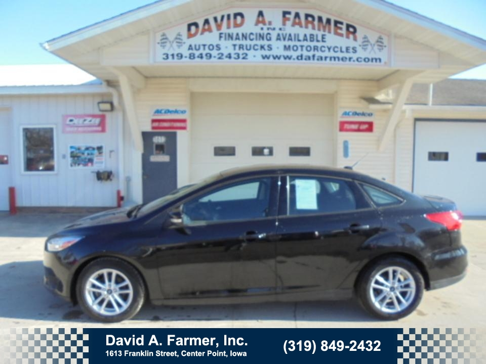 2015 Ford Focus SE 4 Door**Low Miles/Heated Seats/BackUp Camera**  - 4612  - David A. Farmer, Inc.