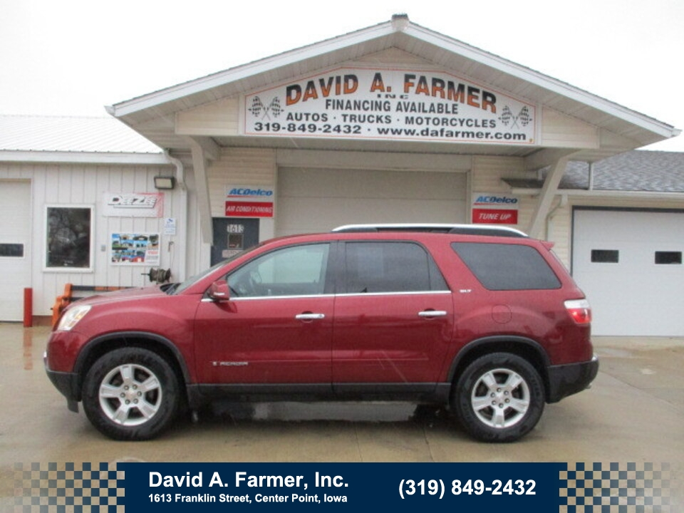 2008 GMC Acadia SLT AWD**1 Owner/Heated Leather**  - 4833  - David A. Farmer, Inc.