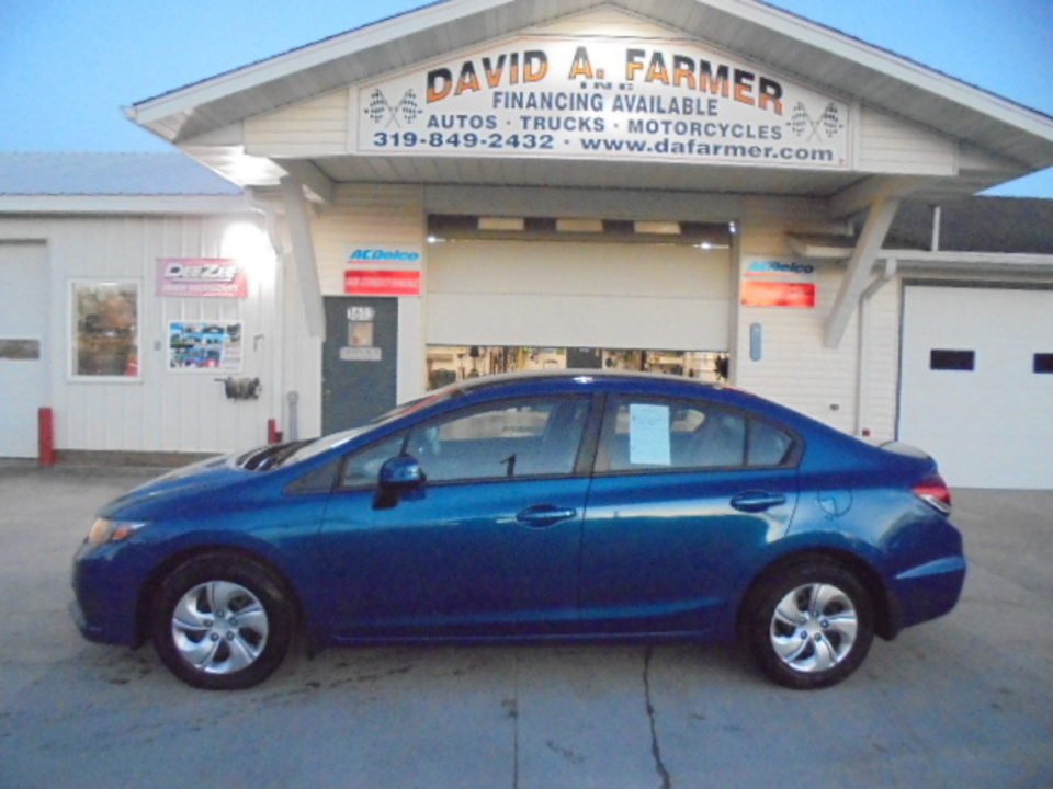 2013 Honda Civic LX 4 Door**Low Miles/Back Up Camera**  - 4598  - David A. Farmer, Inc.