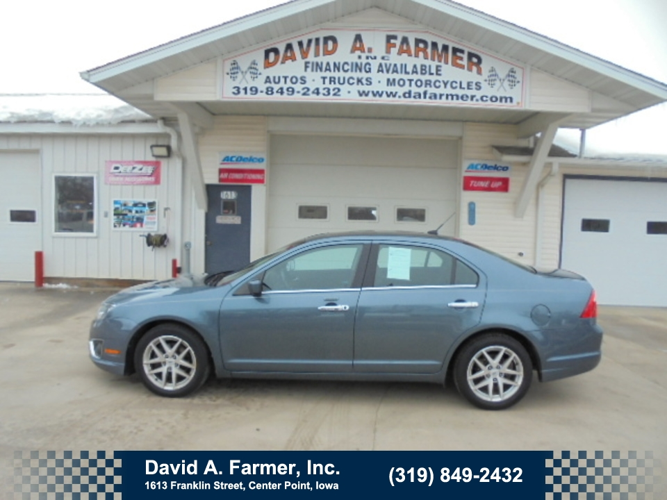 2011 Ford Fusion SEL 4 Door**Loaded/Low Miles**  - 4618  - David A. Farmer, Inc.