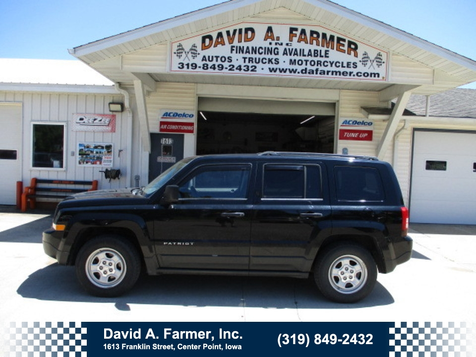 2012 Jeep Patriot Sport 4 Door FWD**Low Miles**  - 4743  - David A. Farmer, Inc.