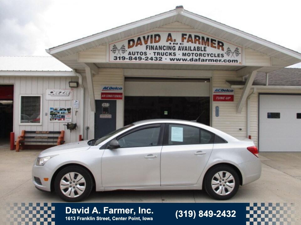 2013 Chevrolet Cruze LS 4 Door**2 Owner/Low Miles/101K**  - 5012  - David A. Farmer, Inc.