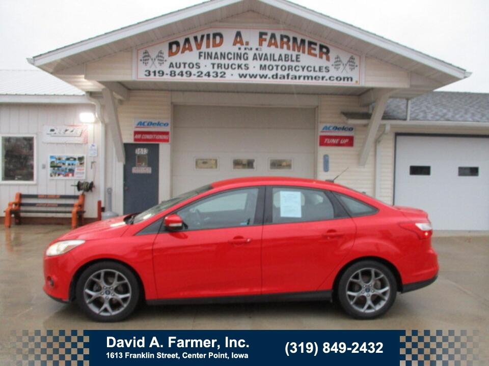 2014 Ford Focus SE 4 Door**Low Miles**  - 4837  - David A. Farmer, Inc.