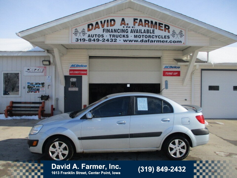 2009 Kia Rio LX 4 Door**1 Owner/Low Miles**  - 4852  - David A. Farmer, Inc.