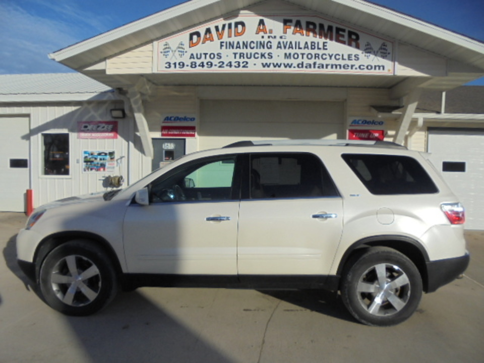 2011 GMC Acadia 4 Door FWD**Remote Start/Back Up Camera/Leather**  - 4614  - David A. Farmer, Inc.