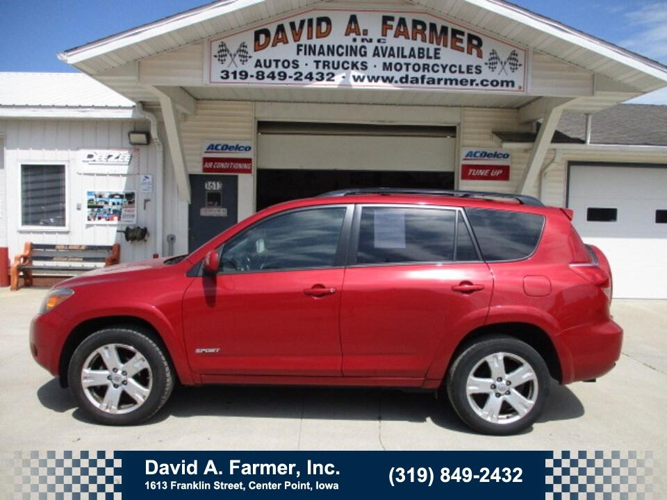 2006 Toyota Rav4 Sport 4 Door 4X4**1 Owner/Low Miles/111K**  - 4988  - David A. Farmer, Inc.