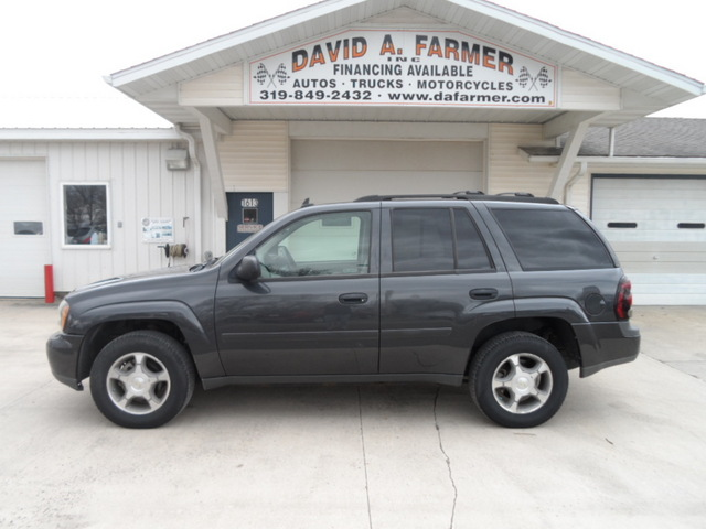 2007 Chevrolet Trailblazer Ls 4 Door 4x4 1 Owner New Tires Stock 4155 Center Point Ia 52213
