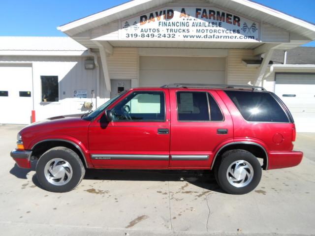 2000 Chevrolet Blazer Lt 4 Door 4x4new Tires Stock 4077