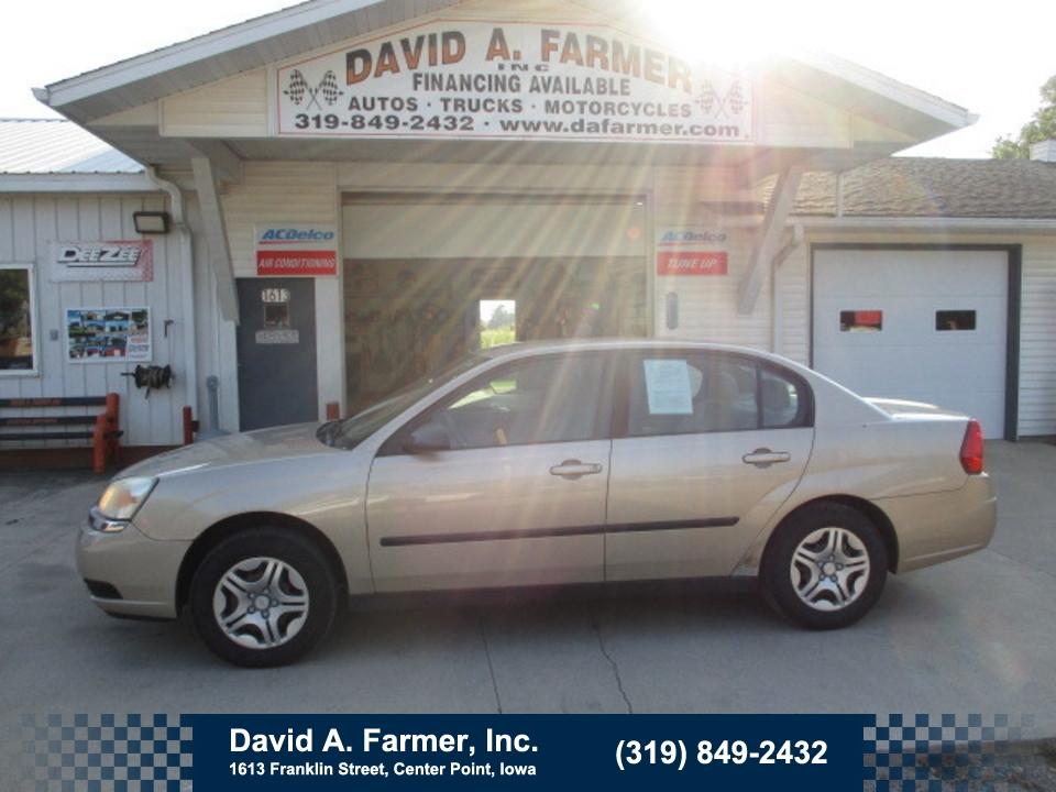 2005 Chevrolet Malibu Base 4 Door**Low Miles**  - 4773  - David A. Farmer, Inc.
