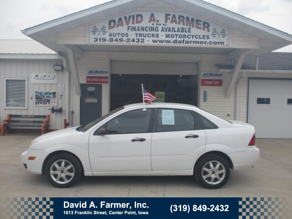 2007 Ford Focus Zx4 S 4 Door**Low Miles/77K**  - 5033  - David A. Farmer, Inc.