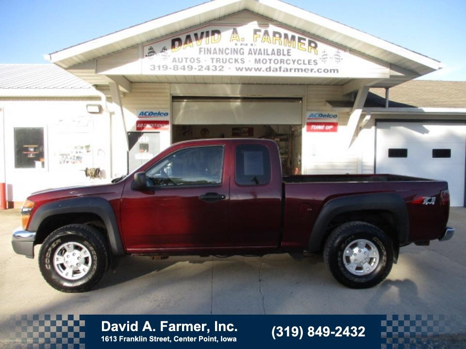 2007 Chevrolet Colorado XCab 4 Door 4X4 Z71  - 4728  - David A. Farmer, Inc.
