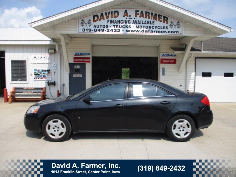 2008 Pontiac G6  - David A. Farmer, Inc.