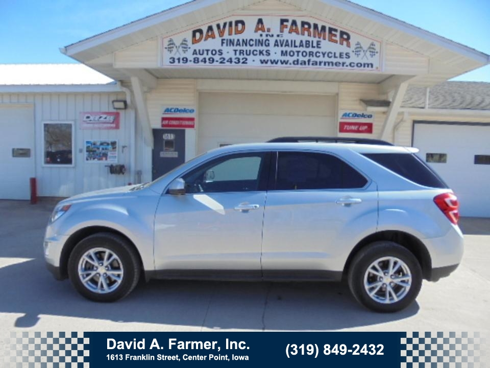 2016 Chevrolet Equinox LT 4 Door AWD**Heated Seats/Remote Start**  - 4668  - David A. Farmer, Inc.