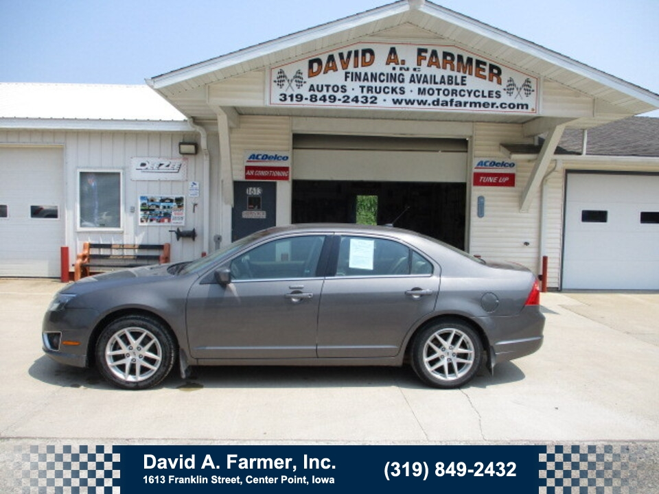 2012 Ford Fusion SEL AWD**2 Owner/Low Miles/102K**  - 5037  - David A. Farmer, Inc.