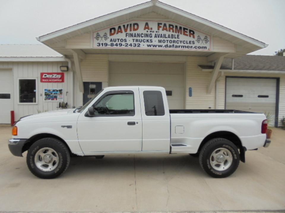 2001 Ford Ranger  - David A. Farmer, Inc.