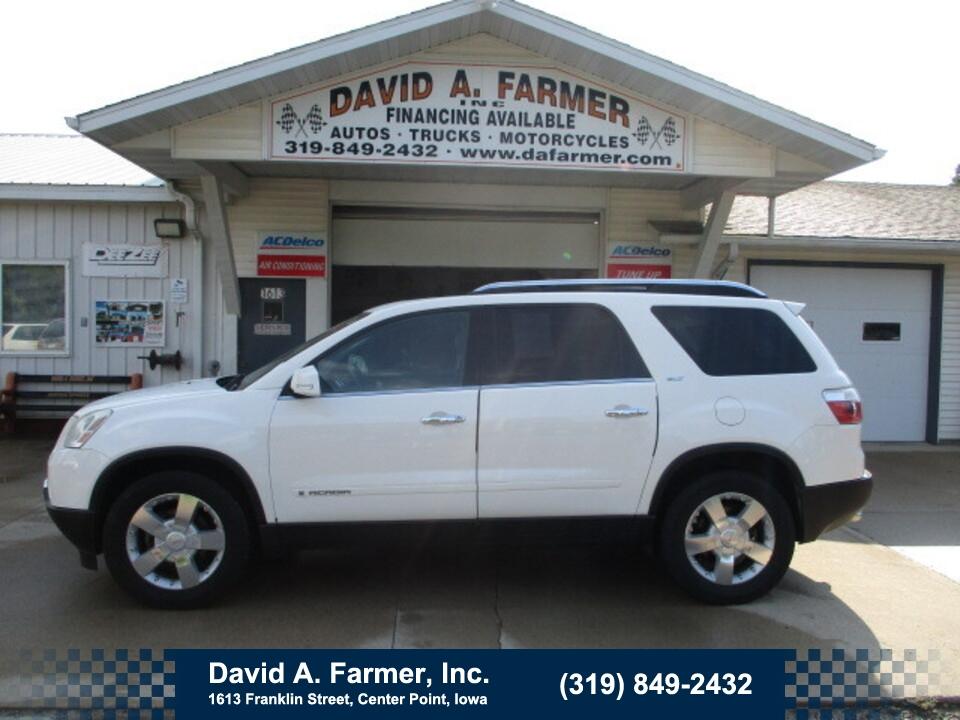 2007 GMC Acadia SLT 4 Door FWD**Heated Leather/Sunroof/DVD**  - 5058  - David A. Farmer, Inc.