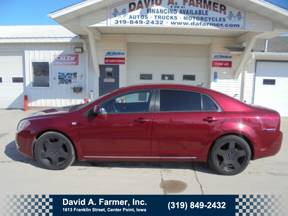 2008 Chevrolet Malibu 2LT 4 Door**Low Miles/Heated Leather/Remote Start*  - 4635  - David A. Farmer, Inc.