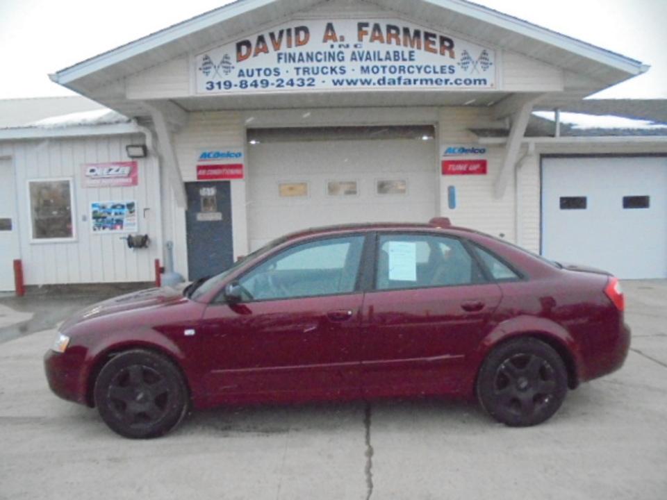 2004 Audi A4  - David A. Farmer, Inc.