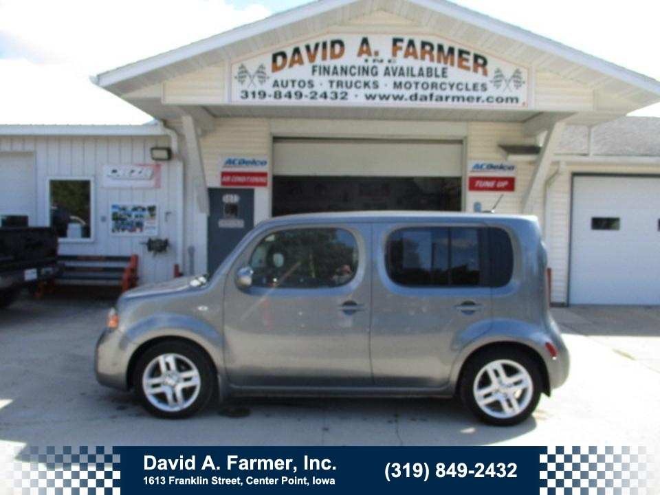 2009 Nissan CUBE SL FWD**Low Miles**  - 4789  - David A. Farmer, Inc.