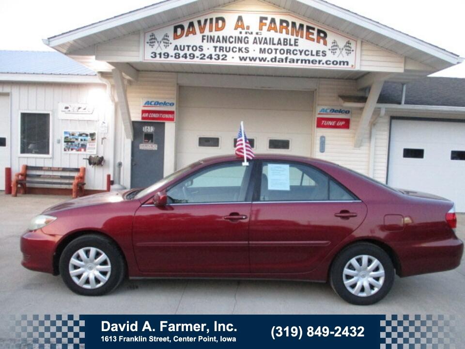 2005 Toyota Camry LE 4 Door**1 Owner/Sharp**  - 4982  - David A. Farmer, Inc.
