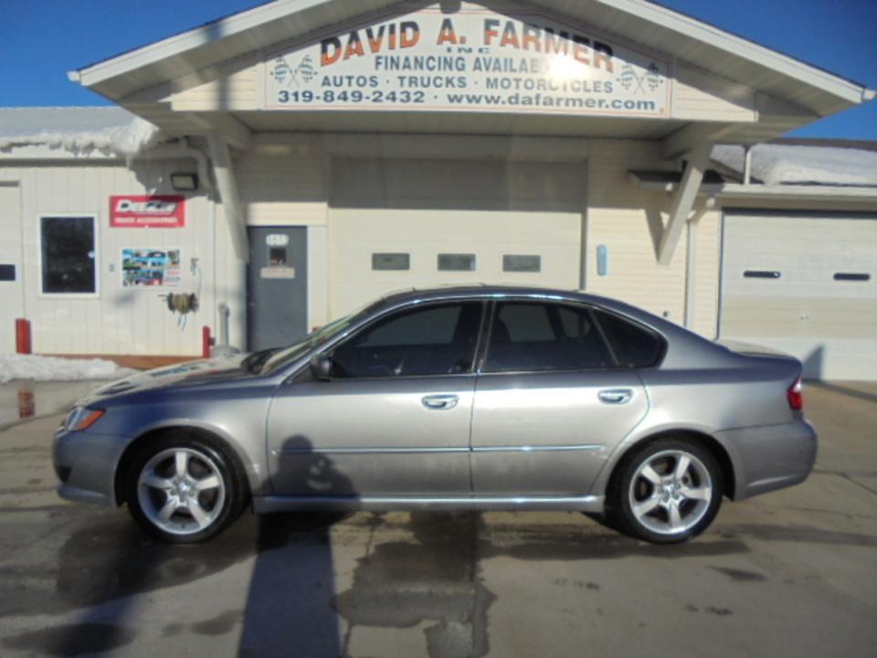 2009 Subaru Legacy Sedan  - David A. Farmer, Inc.