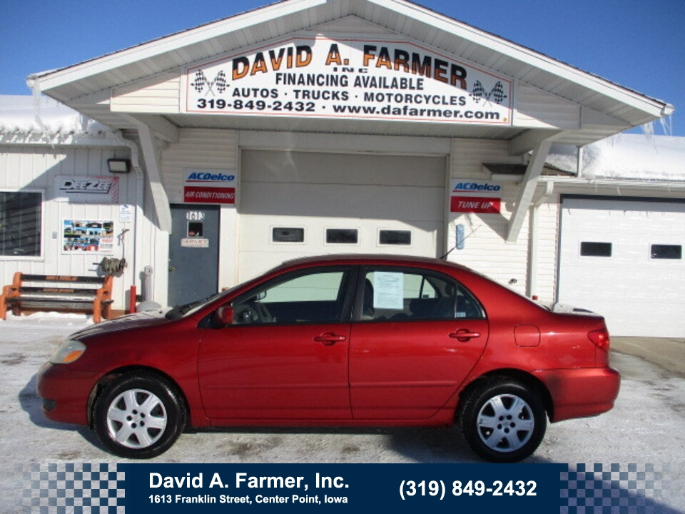 2005 Toyota Corolla LE 4 Door**1 OWNER**  - 4882  - David A. Farmer, Inc.