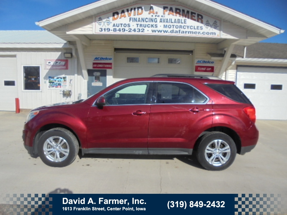 2011 Chevrolet Equinox LT FWD**Low Miles**  - 4665  - David A. Farmer, Inc.