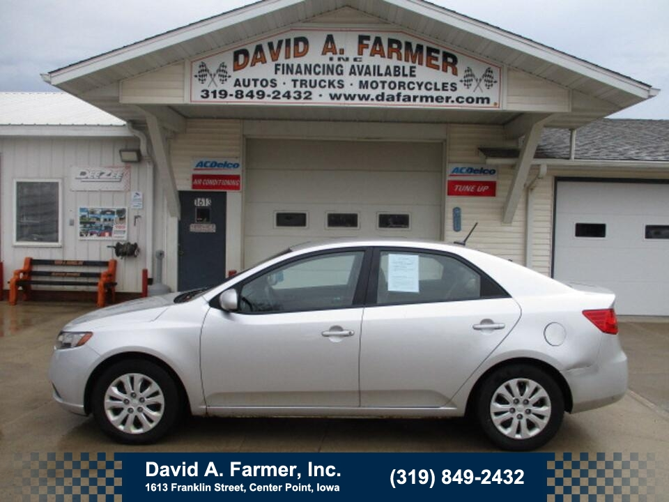 2010 Kia FORTE LX 4 Door**1 Owner/Low Miles**  - 4911  - David A. Farmer, Inc.
