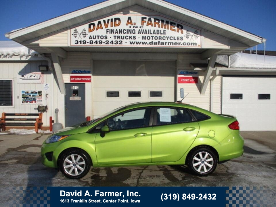2012 Ford Fiesta SE 4 Door**1 Owner/Low Miles/Heated Seats**  - 4879  - David A. Farmer, Inc.