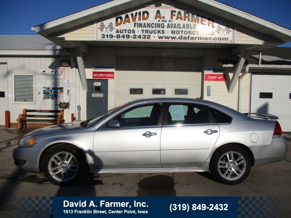 2010 Chevrolet Impala LTZ 4 Door**Heated Leather/Low Miles**  - 4891  - David A. Farmer, Inc.