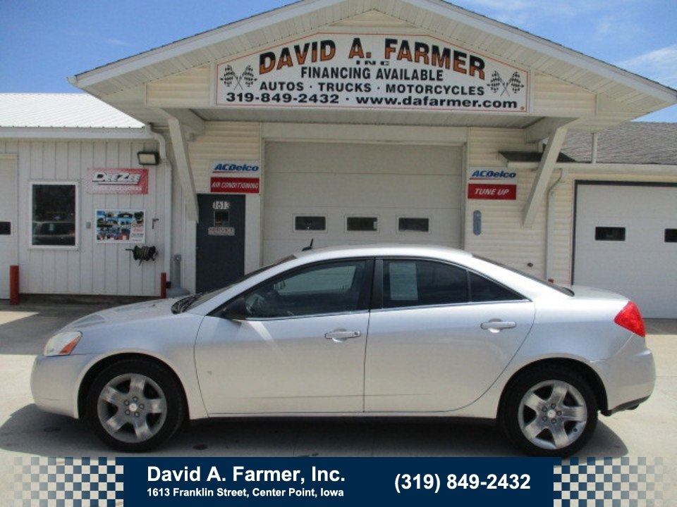 2008 Pontiac G6 4 Door**Low Miles**  - 4694  - David A. Farmer, Inc.
