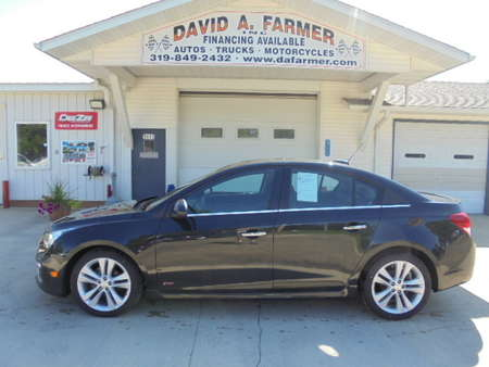 2015 Chevrolet Cruze LTZ with RS Package**Leather/Sunroof/New Tires** for Sale  - 4330  - David A. Farmer, Inc.