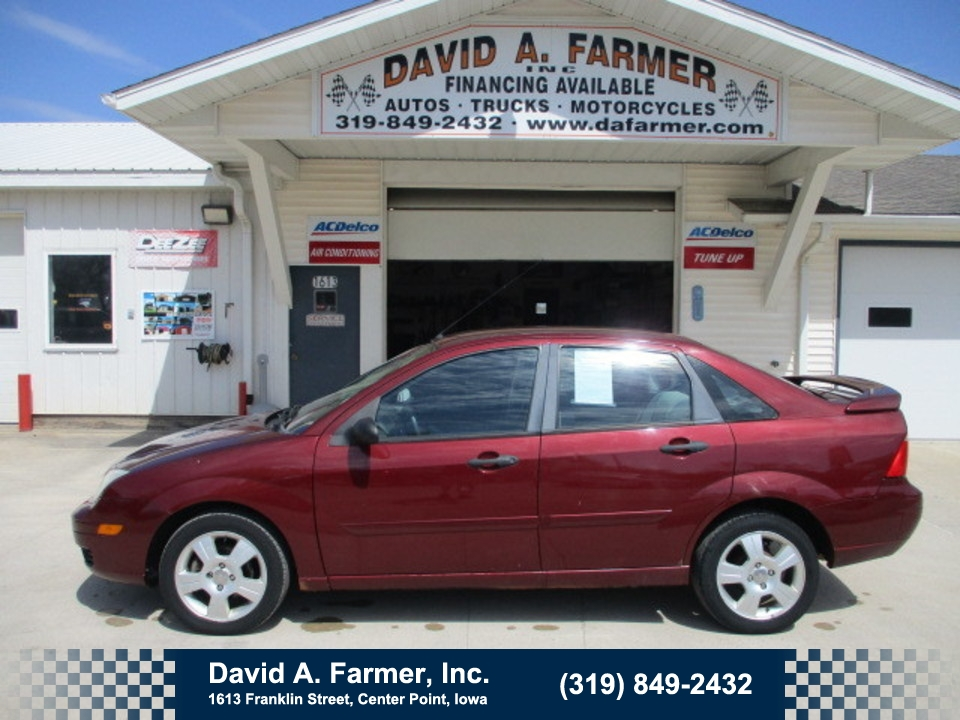 2007 Ford Focus ZX4 SES 4 Door**1 Owner/Low Miles**  - 4693  - David A. Farmer, Inc.