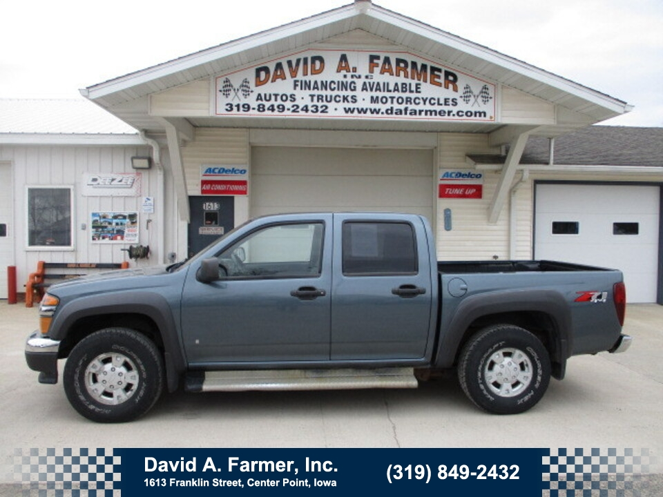 2006 Chevrolet Colorado LT Crew Cab 4X4 Z71**1 Owner/New Tires**  - 4829  - David A. Farmer, Inc.