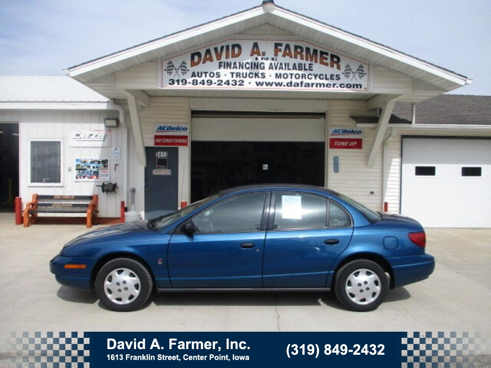 2002 Saturn SL SL1 4 Door**2 Owner/Low Miles**  - 4944  - David A. Farmer, Inc.