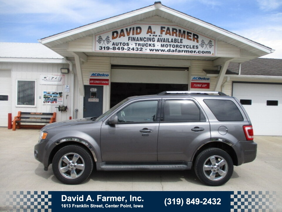 2010 Ford Escape Limited FWD**Low Miles/Leather/Sunroof**  - 4943  - David A. Farmer, Inc.