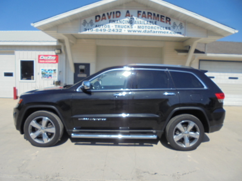 2014 Jeep Grand Cherokee  - David A. Farmer, Inc.