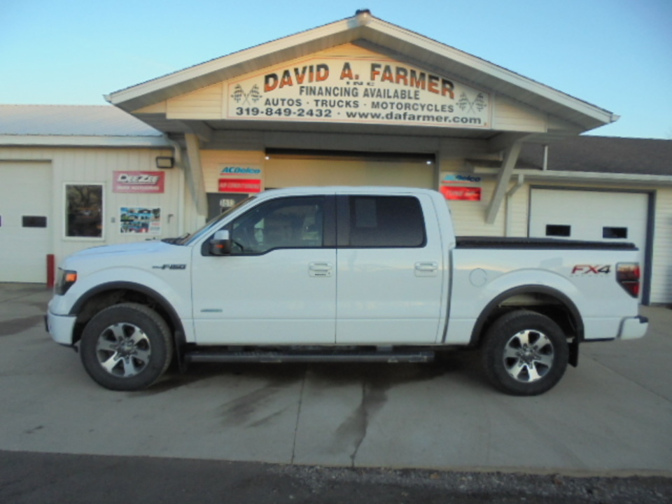 2013 Ford F-150 FX4 4WD**1 Owner/Heated&Cooled Leather**  - 4600  - David A. Farmer, Inc.