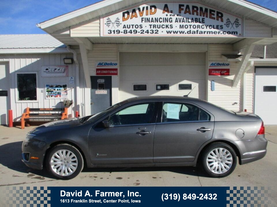 2010 Ford Fusion Hybrid 4 Door**Low Miles/Leather/Sunroof**  - 4842  - David A. Farmer, Inc.