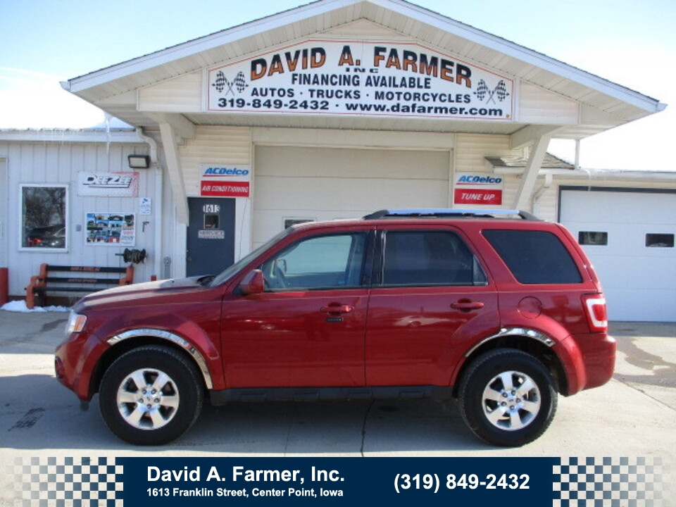 2012 Ford Escape Limited 4 Door 4X4**Heated Leather/Sunroof**  - 4851  - David A. Farmer, Inc.