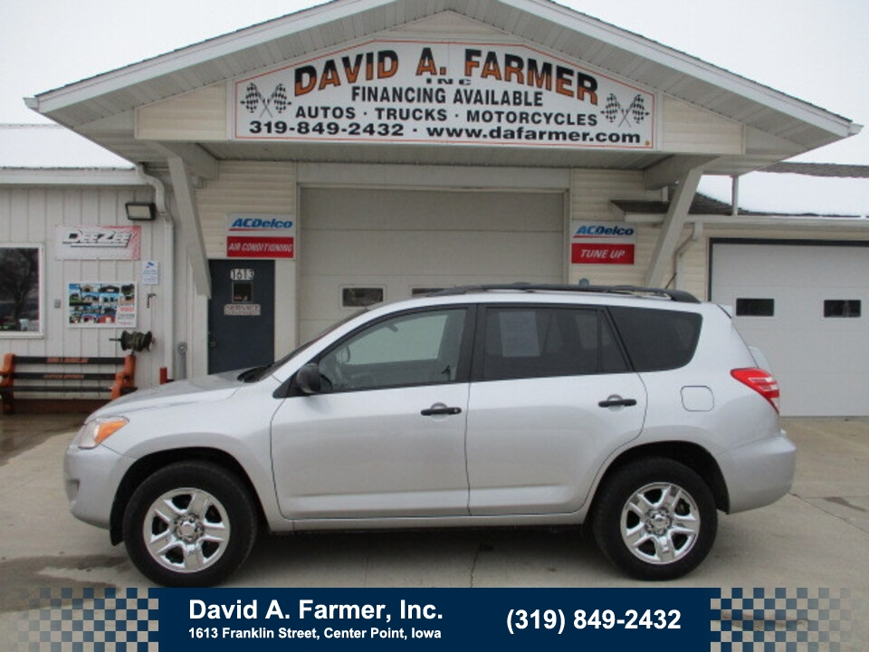 2009 Toyota Rav4 4 Door 4X4**1 Owner**  - 4838  - David A. Farmer, Inc.