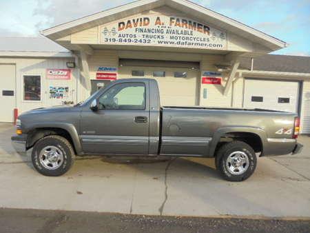 2000 Chevrolet Silverado 1500 LS Regular Cab 4X4 Long Box**Low Miles/New Tires** for Sale  - 4591-1  - David A. Farmer, Inc.