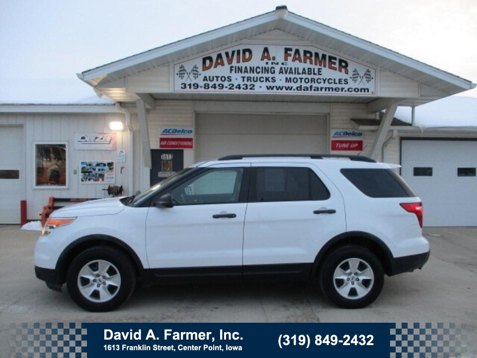 2014 Ford Explorer Base 4 Door 4X4**1 Owner/Low Miles/New Tires**  - 4853  - David A. Farmer, Inc.