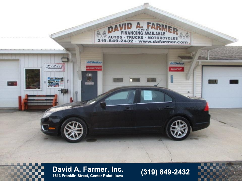 2012 Ford Fusion SEL 4 Door**1 Owner/Sunroof/Leather**  - 4705  - David A. Farmer, Inc.