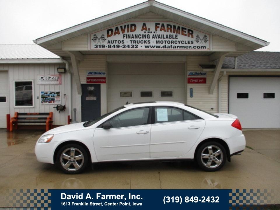 2009 Pontiac G6 GT 4 Door**Heated Leather/Sunroof**  - 4769  - David A. Farmer, Inc.