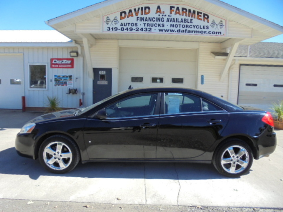 2008 Pontiac G6 Gt 4 Door 2 Owner Low Miles Stock 4371 Center Point Ia 52213