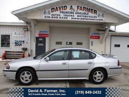 2002 Chevrolet Impala LS 4 Door*Low Miles/Leather/Sunroof* for Sale  - 4849  - David A. Farmer, Inc.